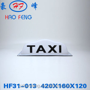 HF31-013 plastic taxi lamp taxi advertising roof top taxi top advertising light box
