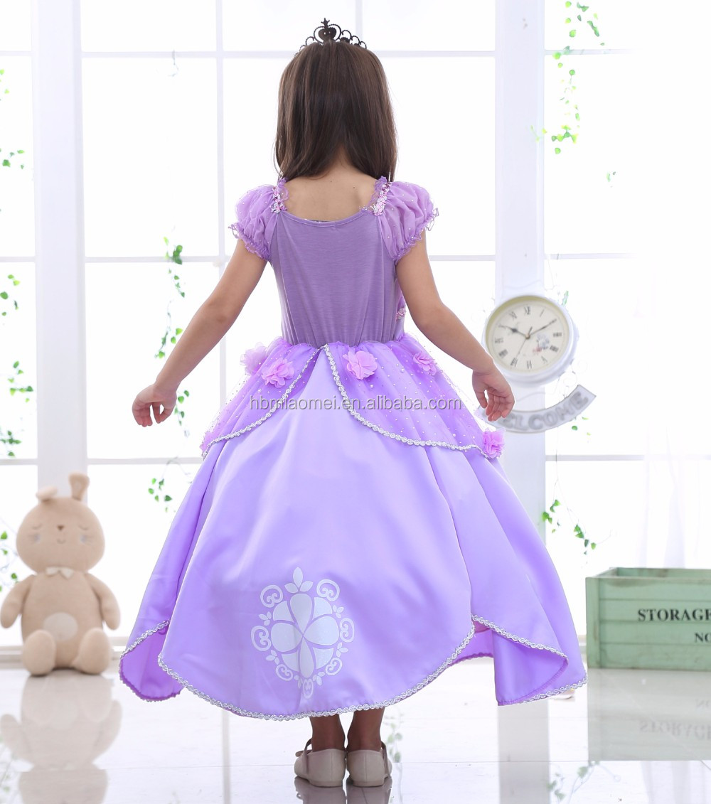 Beautiful Sophia Princess Dress Hot Sell Party Wear Cosplay Princess ...