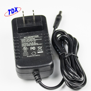 DC Output Type 12v 2a Power Supply AC DC Adapter 12 Volt 2 Amp 24 Watt Charger for Massage Pillow adaptor