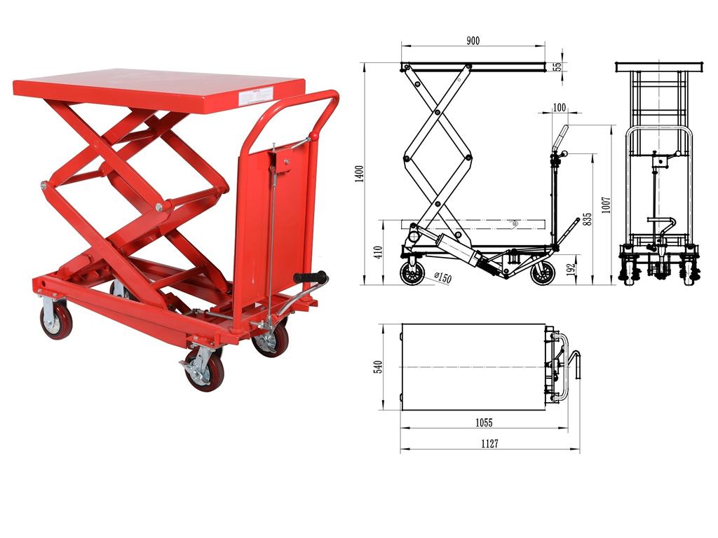 Professional Factory hydraulic table lift good quality ,lift platform