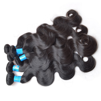 KBL 5A Natural wave virgin slavic hair, Top one raw wavy black hair products suppliers in Guangzhou, exporting hair extension