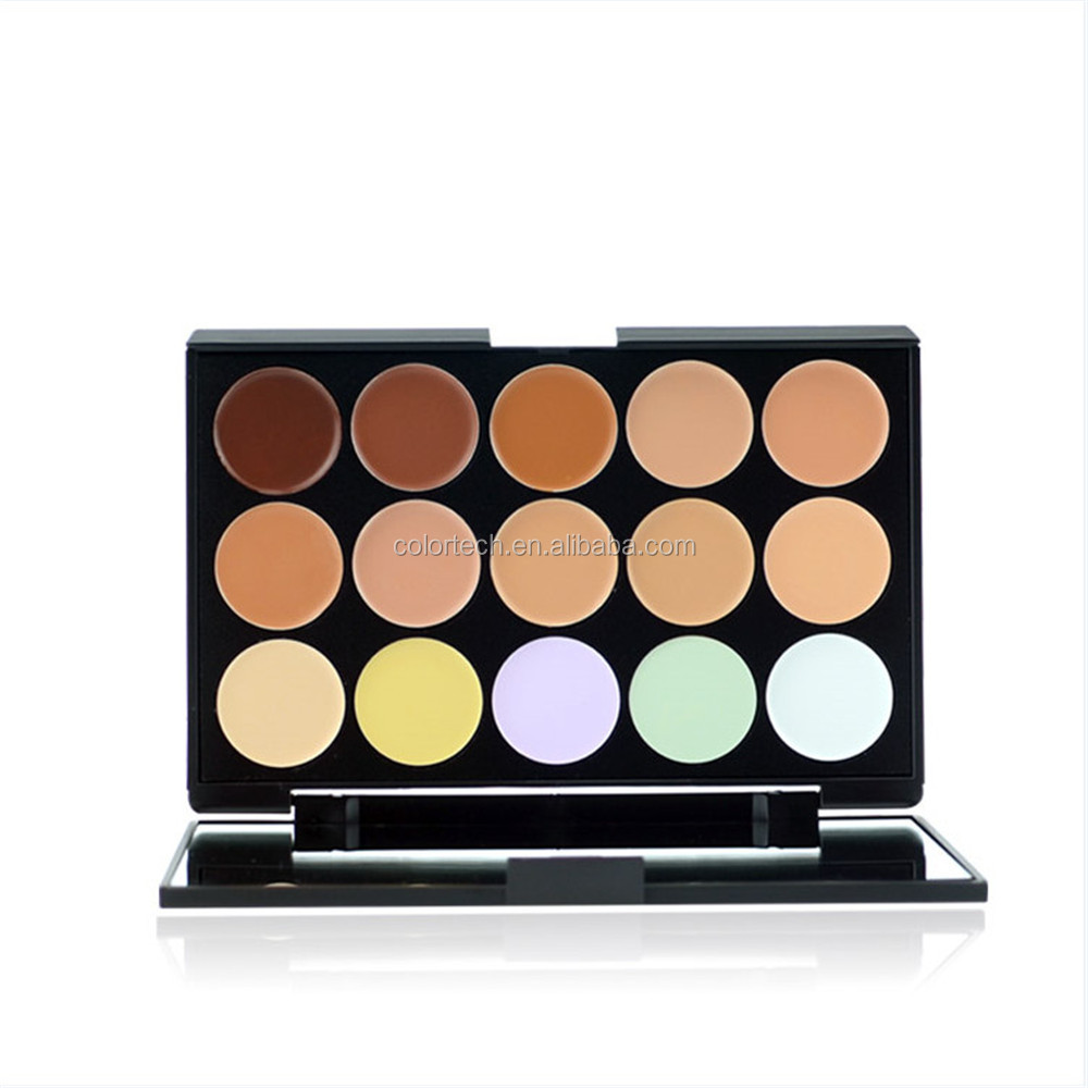 15 Colors Wholesale Makeup Eyeshadow Palette manly color palette
