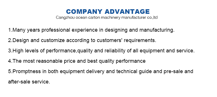 Ocean 7 color flexo printing corrugated carton box making machine( made in taiwan ) price india