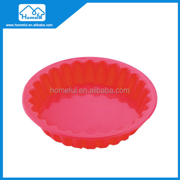 China Supplier Food Grade silicone cake molds pan