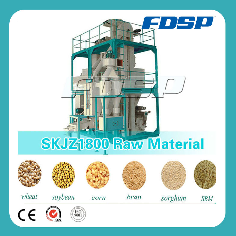 High Output Complete Chicken Feed Production Line for Classifying Feed Pellet