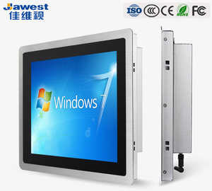 "Jawest 10.1"" 12"" 15"" 17"" 19 inch Intel quad core i3 i5 i7 true flat desktop computer touch screen all in one Panel PC"