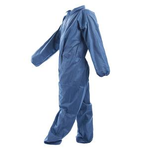 50gsm Microporous Waterproof Disposable protective coverall Industrial Safety Coveralls