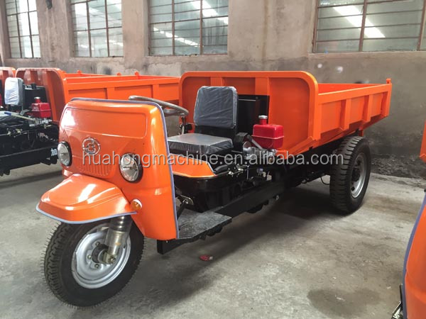 top quality widely usd in mine electric tricycle/cargo transport mini truck with hydraulic system