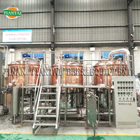 High cost performance beer production machinery line for sale 15hl-20hl