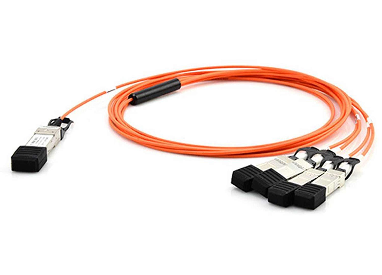 Mellanox QSFP+//SFP+ Network Cable 9.84 ft QSFP+//SFP+ for Network Device 4 x SFF-8431 SFP+ 1 x SFF-8436 QSFP+
