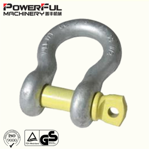 Rigging Hardware Australian Type Drop Forged Omega Screw Pin Bow Shackle
