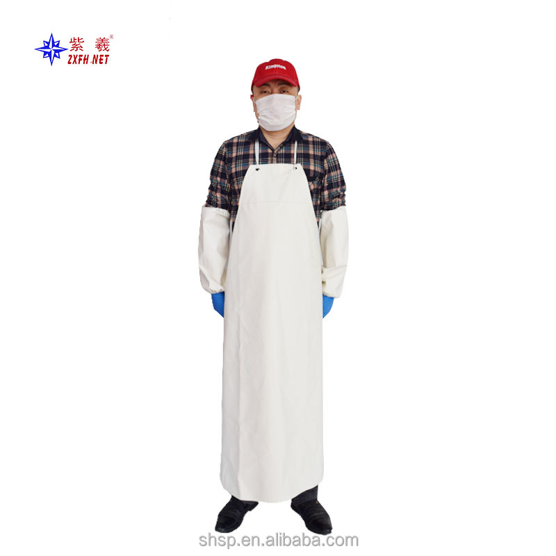 High quality Professional Washable working custom rubber aprons