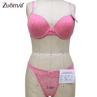 China manufacturer plus size brand new japanese girl bra panty sexy bra and panty new design