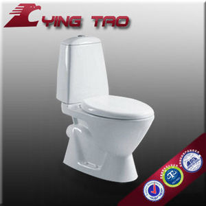 European Standard Bathroom Porcelain new style two piece sanitary ware importers