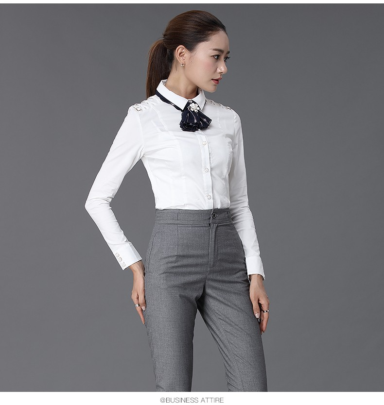2016 New Arrival Office Uniform Woman Suit 2 Piece Shirt And Pant Womens Formal Business Pants ...