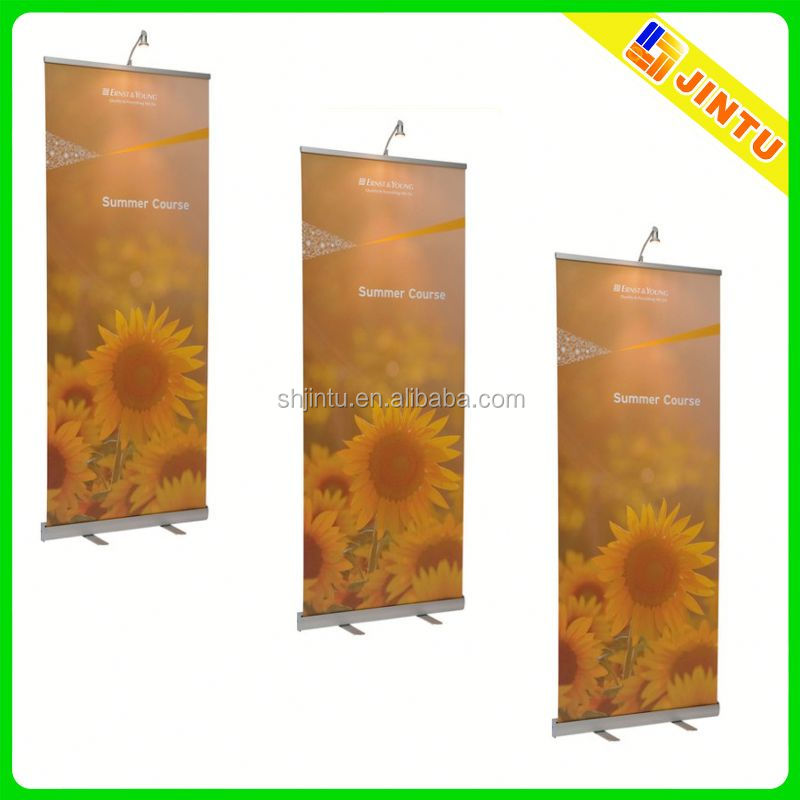 popular aluminium roll-up banner stand with its banner new fashion PABS