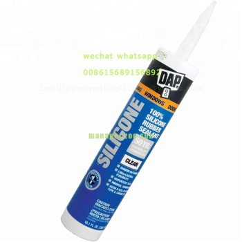300ml White/Clear/Black 100% RTV Silicone Sealant