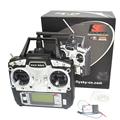 drone FlySky FS T6 2 4G 6CH TX RX FS R6B RC Radio Control Transmitter Receiver