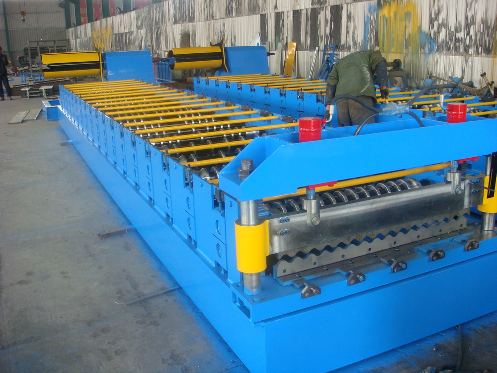 Cold Used Metal Roof Panel Roll Forming Roof Machine Buy