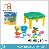 Alibaba trends plastic beach toy sand bucket play table for kids