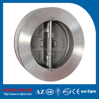 Dual Plate Wafer Type Non-slam Check Valve