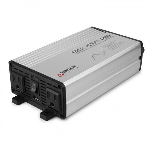 Wagan Elite 400W Pro Pure Sine Wave DC to AC Power Inverter