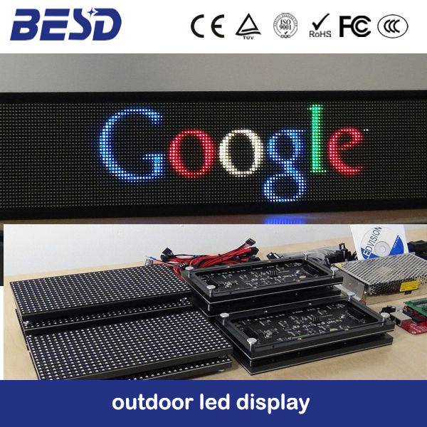 Moving led display message board