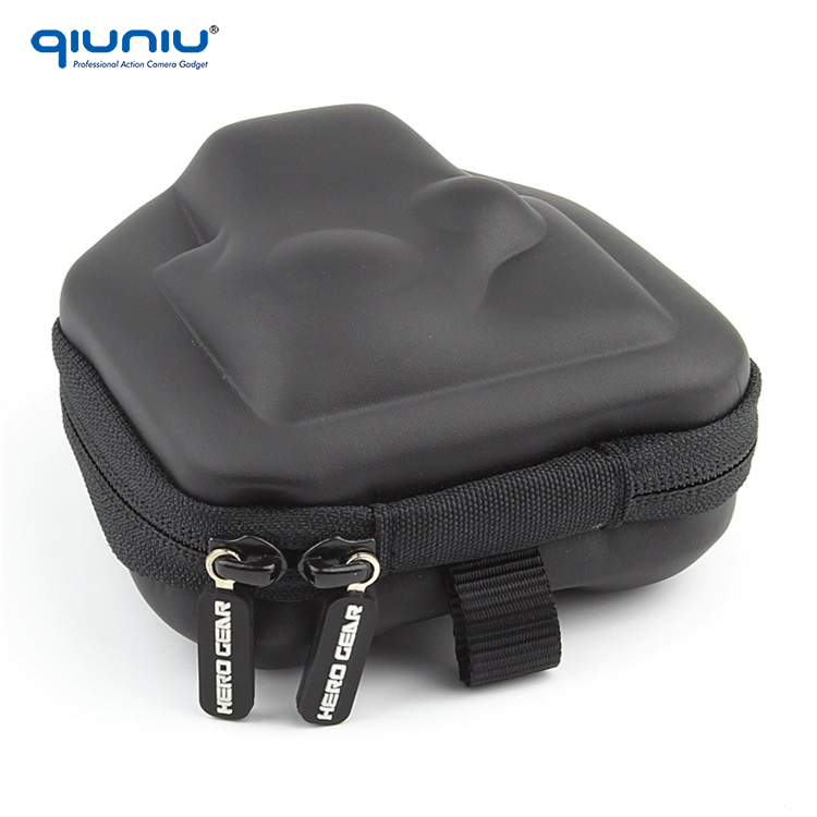 GoPro Accessories Portable Storage Camera Bag Small Travel Protective Carry Case for GoPro Hero 2 3 3+ 4 SJCAM Xiaomi Yi