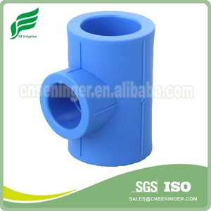 Nano-antibacterial PPR Pipe Fitting Reducing Tee