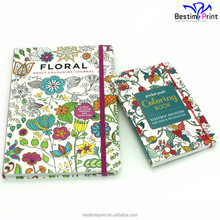 Print Coloring Books for Adults Print Your Book Personalised Book Elastic Band
