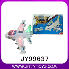 Hot Selling Battery Operated Aircraft Kids Plastic Electric Plane With Light