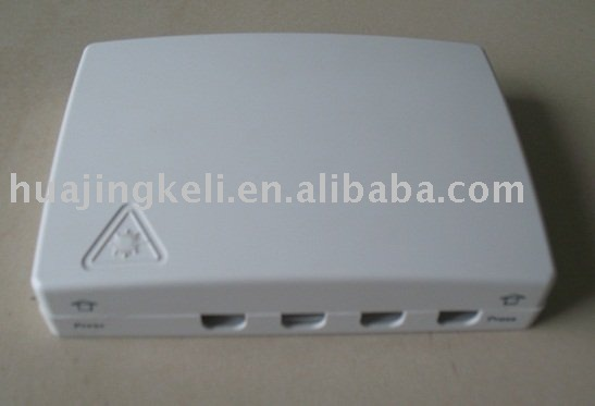 Fiber Optic FTTH&Wall Mount Mini Terminal Box (ODF)&ftb&4 fibers