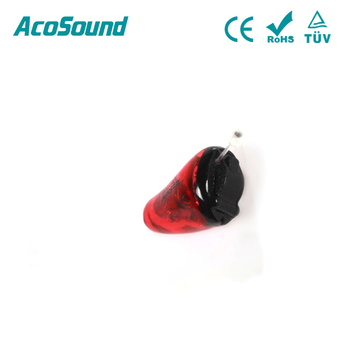 100% Invisible in The Canal AcoSound Ruby-II IIC Best Price hearing aid invisible for mini hearing aid