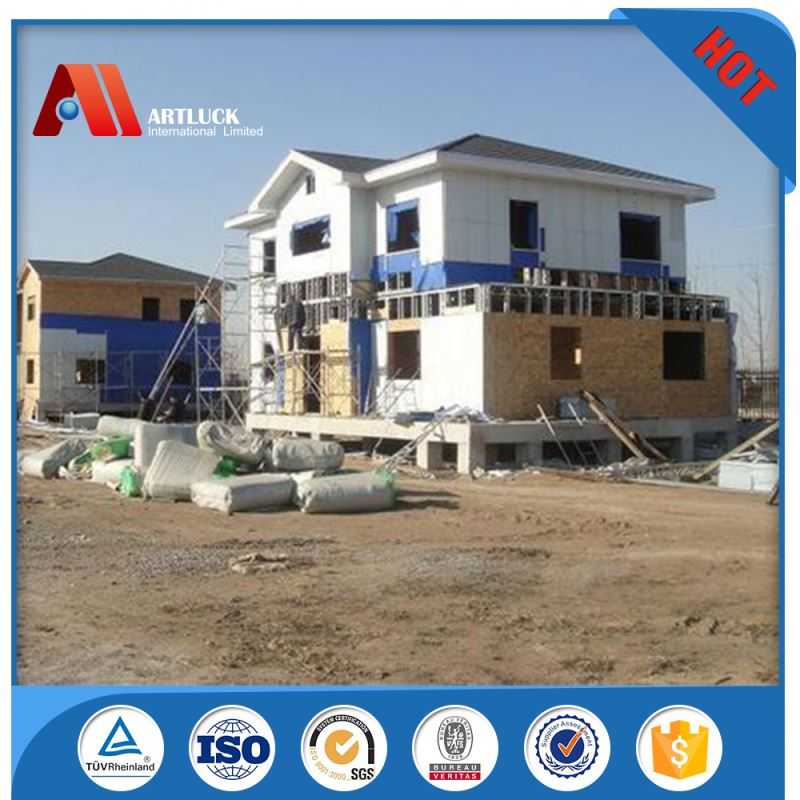 hot-dip galvanized sound insulated prefab house