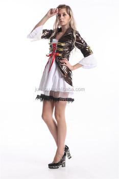 48fcf1709cb Женская костюм пирата Angelica Пираты Карибского моря Хэллоуин нарядное  платье
