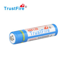 AAA/AA 1.2V 900mah smallest battery 500 cycle times NIMH rechargeable batteries TrustFire brand or customize logo with CE,FCC