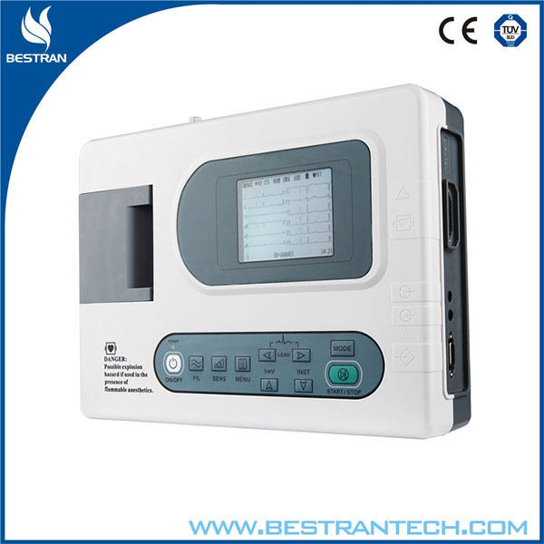 BT-ECG30A China factory sale ISO CE High Quality good price Fast delivery portable digital ecg machine 3 channel