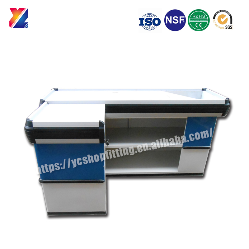 YC-S045 supermarket cash checkout desk counter