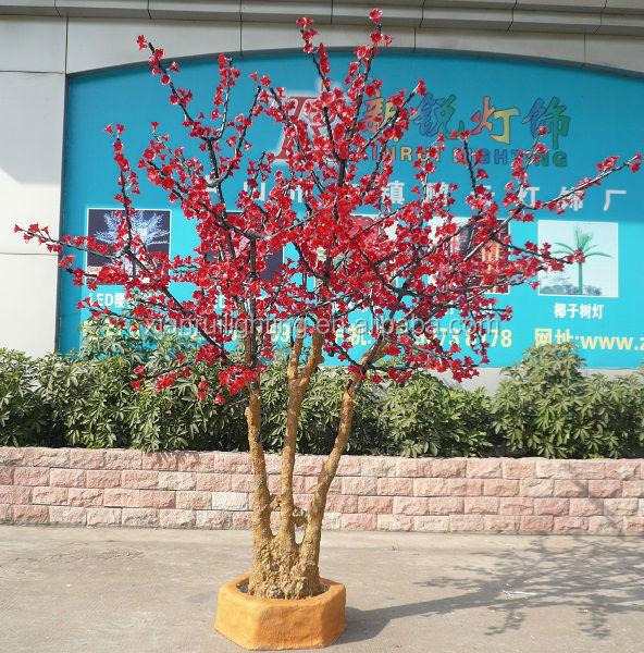 ip65 kirschbl te leuchtet outdoor led gartenleuchten k nstlichen dekorativen bonsai baum. Black Bedroom Furniture Sets. Home Design Ideas