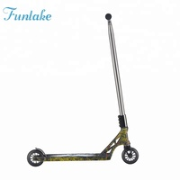 Sample available fashion 110mm extreme adults stunt foot scooter kids scooter freestyle kick scooter two big wide wheel