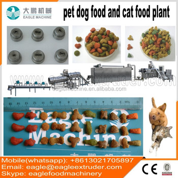 Jinan eagle DP70 automatic dog food machine making equipment making plants extrision line
