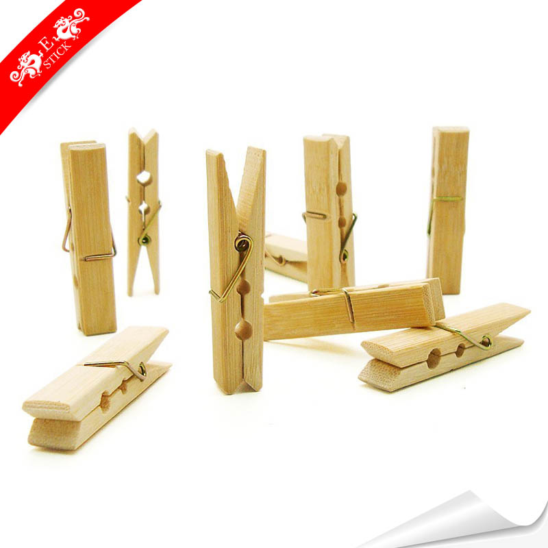 Household Supplies & Cleaning Big Large Wooden Wood Strong Galavanised Coil Spring Laundry Clothes Pegs Packs