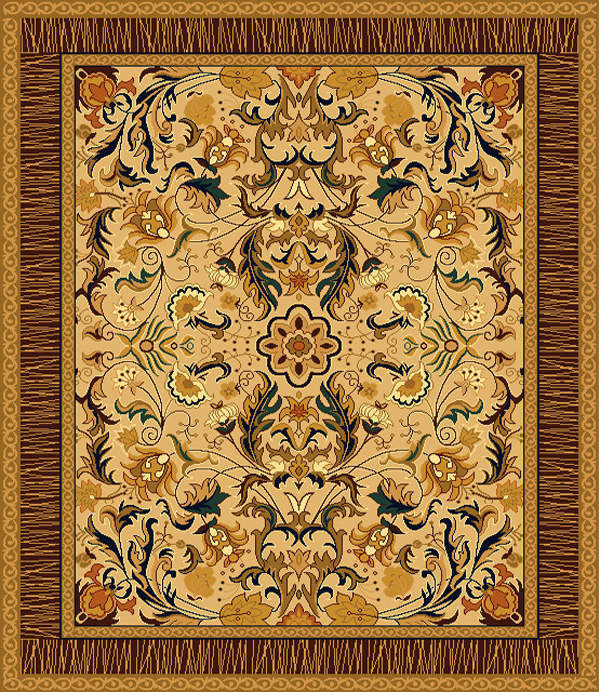 Wool And Nylon Axminster Carpet Customized Wool And Nylon