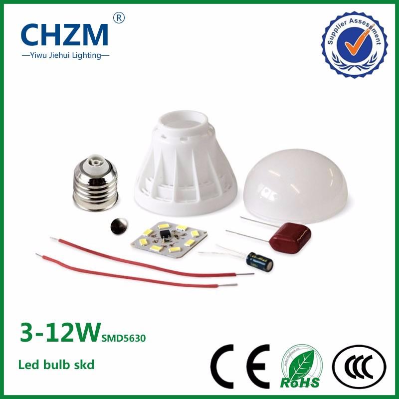 Led Bulb Skd Parts Low Price Housing Smd5630 3w 5w 7w 9w