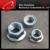 galvanized A2 A4 SUS hex flange nut DIN6923