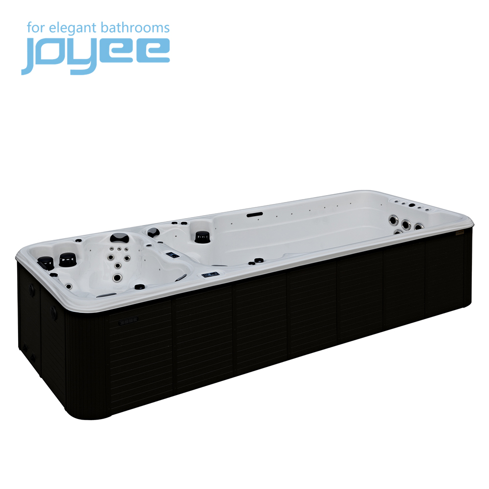 Hot koop Pure Acryl grote massage bad/luchtbel jets surf outdoor spa/whirlpool J-SLS880