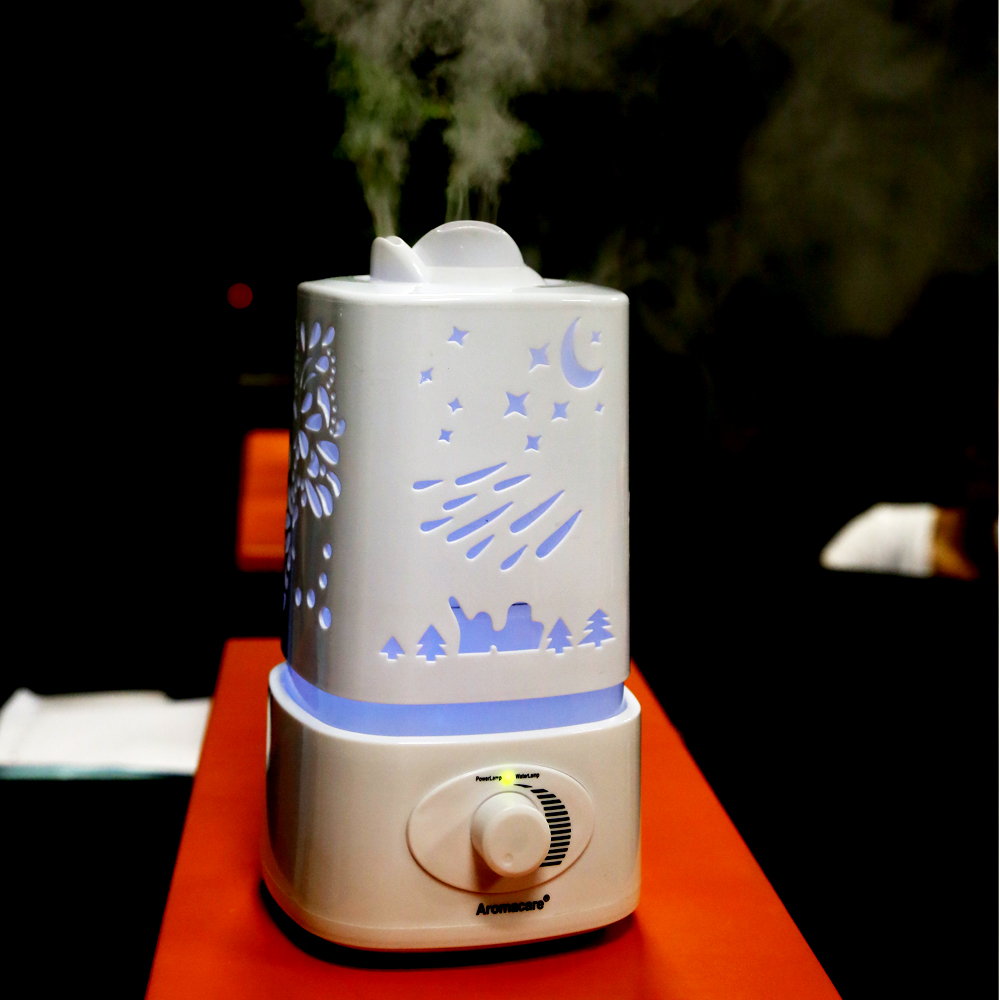 2017 Shenzhen 1500ml Mist Ultrasonic Humidifier Type CE/RoHS/KC Essential Oil Aroma Diffuser