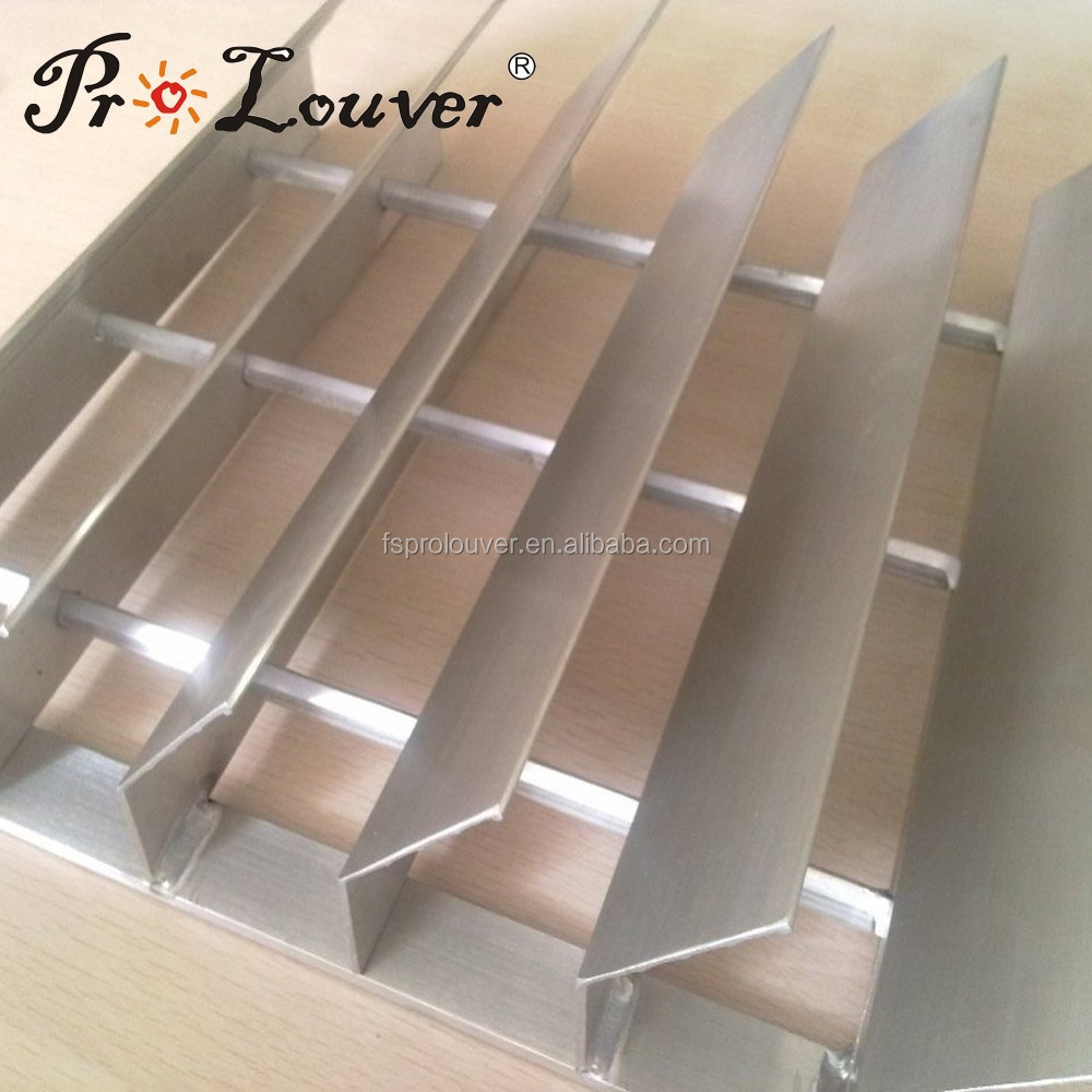 Aluminum Swaged louvre screens