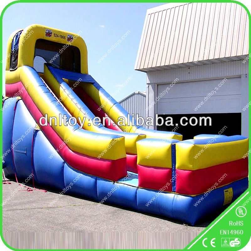 Hot sell Inflatable slide for kids and adults in summer,tv slide mount