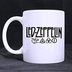 Popular Design Custom Office Cup - Led Zeppelin Pattern Custom Morphing Coffee Mug Tea Cup 11 OZ Office Home Cup